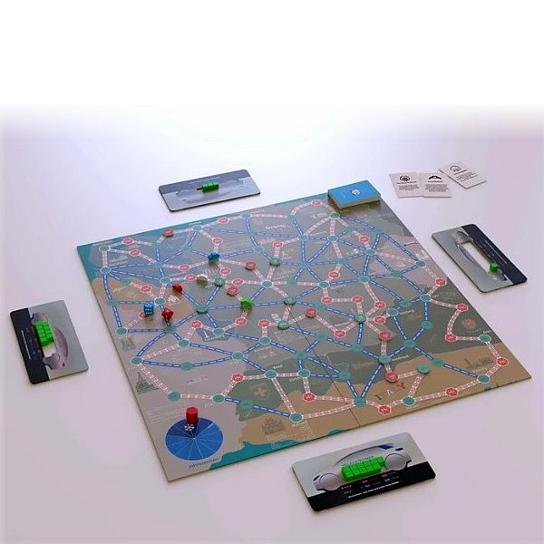 E-Mobility-Brettspiel: Elektrisch um die Wette