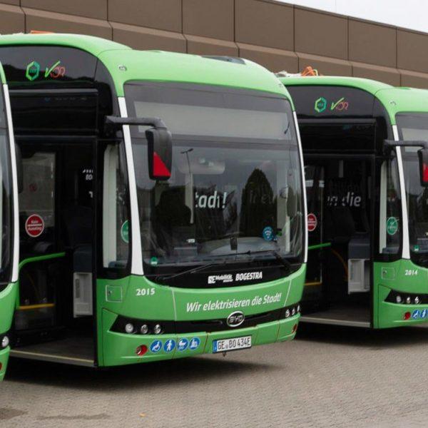 Anteil der Elektro-Busse hat sich 2020 verdoppelt